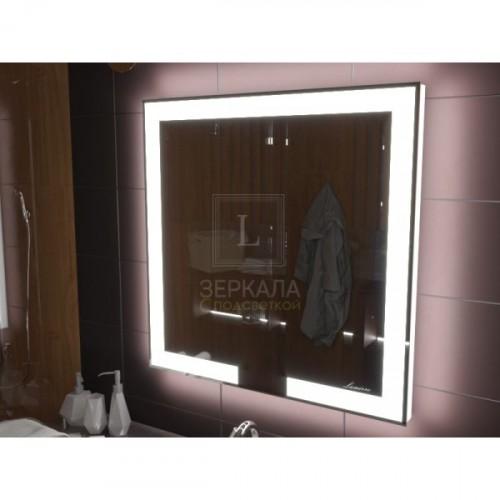 Зеркало с подсветкой для ванной комнаты Новара